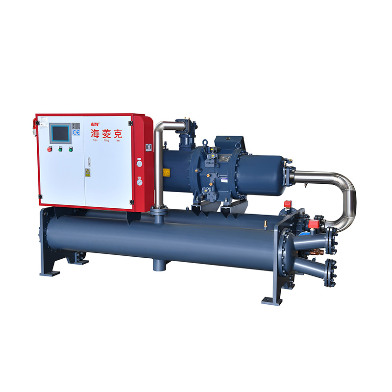 good price refrigerant R134a ,R407C,water chiller machine water cooled screw unit