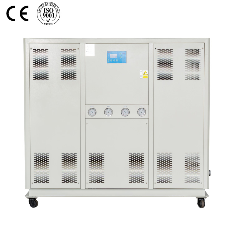 have CE, ISO certificate 20HP 60KW cooling capacity industrial air cooled water chiller manufacturer customized for sale