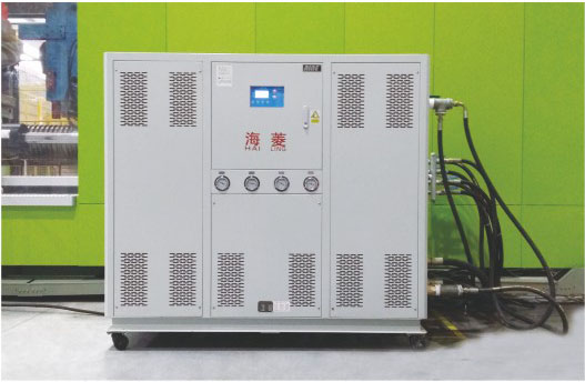mold injection water cooled chiller