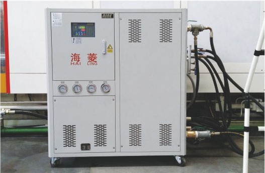10HP water cooled chiller for package factory